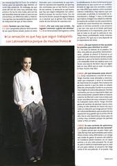 """Claudia Llosa en """"Caras"""" (pt. 5)"""