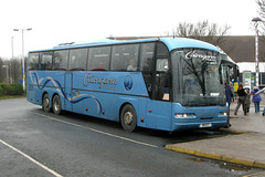 Cairngorm Travel S18CCT (Howard_Pulling) Tags: uk coach coaches cairngorm m62 neoplan ferrybridge motorwayservices knottingley n316 cairngormtravel n316shdl s18cct ferrybridgeservices