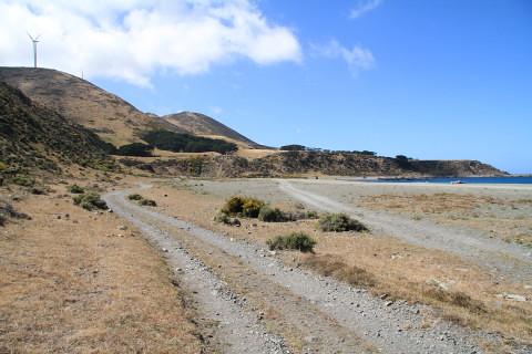 Coastal track east of Karori Rock
