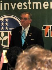 U.S. Secretary of Transportation Ray LaHood in Kansas City