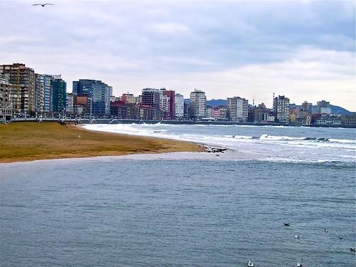 Paseo Marítimo de Gijón. de Antonio Barreiro