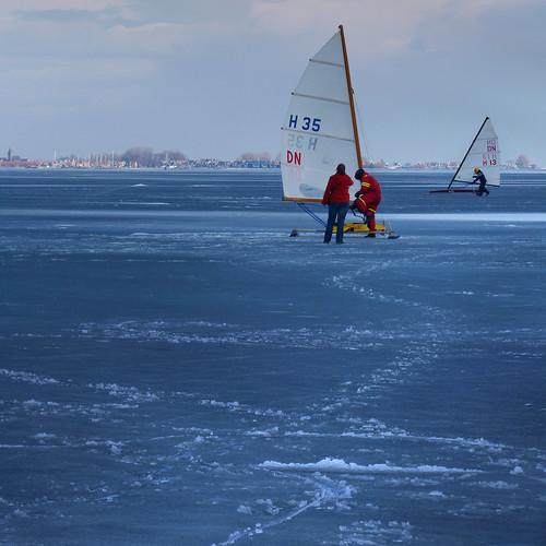 Iceboating #1