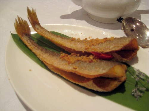 Shanghai Xiao Nan Guo Cuisine - Hong Kong - Fried Crispy Yellow Fish