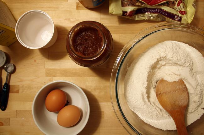 making & baking