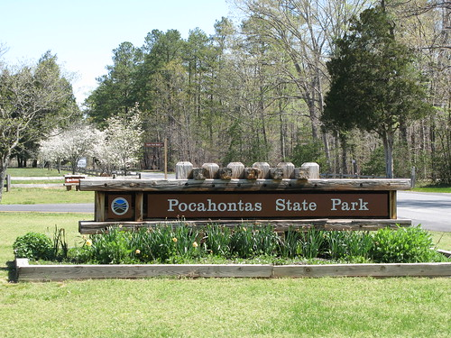 Pocahontas State Park located in Chesterfield County