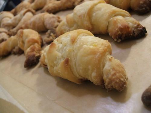 mini croissants.