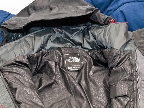 jacket wintergear northface vortextriclimate