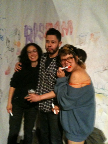 Marella, the feisty organizer with Franklin Melendez, who made things happen and Ara, who should go snowboarding with me!