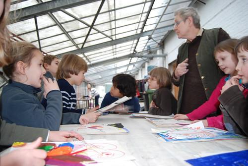 Krokusateliers, Middelheimmuseum (c) Miranda De Boel