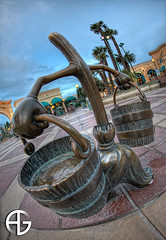 Fantasia (A.G. Photographe) Tags: studio french bucket high nikon dynamic disney fisheye company disneyworld fantasia nikkor walt range eurodisney franais broom hdr rendering balai anto seau sorcier xiii seaux lapprentisorcier lapprenti hdr7raw france16mm