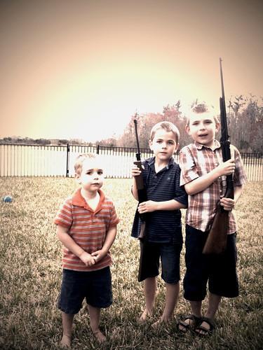 kids gun shoot bb pellet