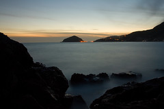 Sunset from Petrelle (Rocco V.A.) Tags: longexposure sunset beach tramonto ischia maronti southitaly barano suditalia canonef1740f4lusm canoneos450d spiaggiadeimaronti petrelle roccoarcamone roccoarcamonephoto