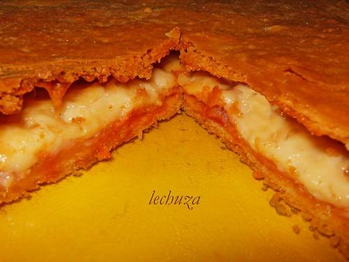 Empanada jamon y queso-detalle corte