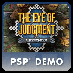 THE EYE OF JUDGMENT LEGENDS PSP Demo