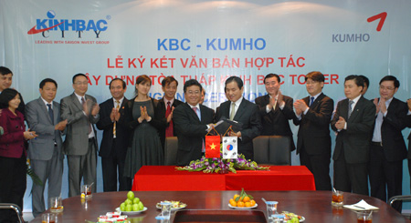 US$100 million Kinh Bac Hanoi Tower to be built