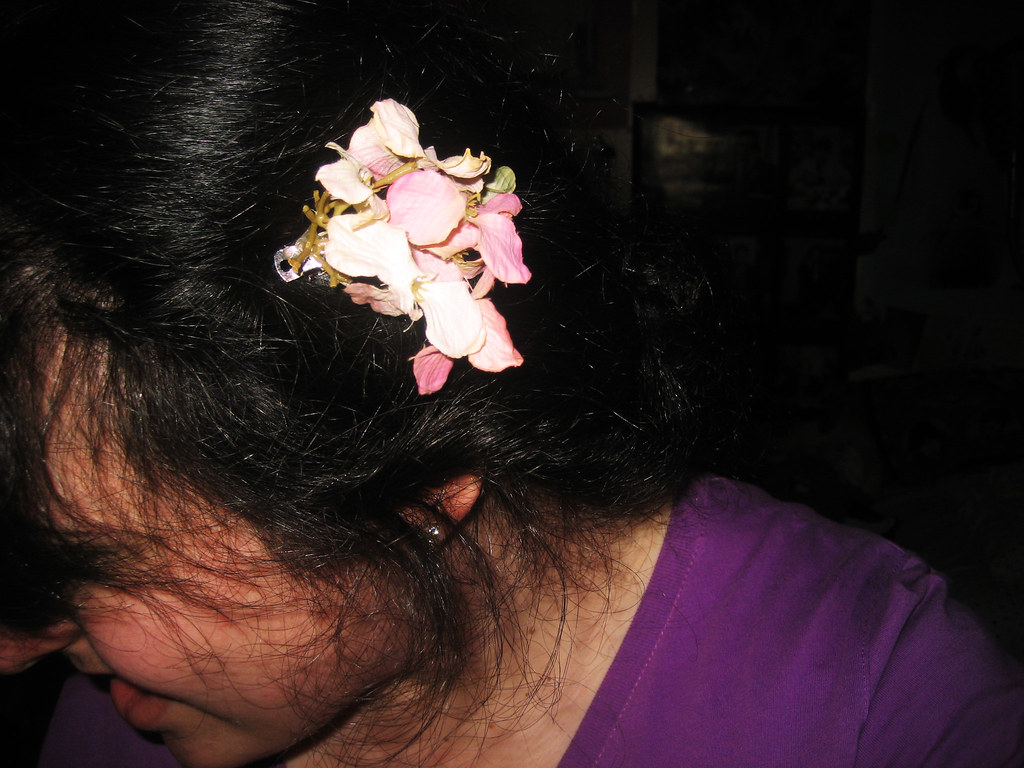 handmade bouquet clip