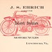 Indian Motorcycle dealer notepaper 1913