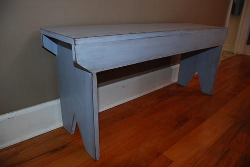 Amanda's simple bench!