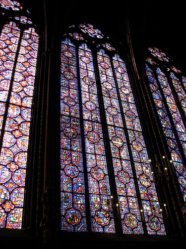 Saint Chappelle - Famous for stained glass