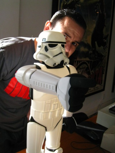 Alex Zavaleta on the Trooper