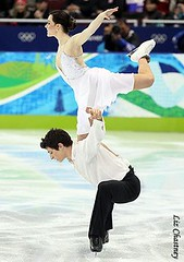 Virtue and Moir had incredible levels of difficulty in their Olympic free dance. (Photo by Liz Chastney)
