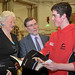 Sports Minister attends launch of first Mary Peters Trust annual report