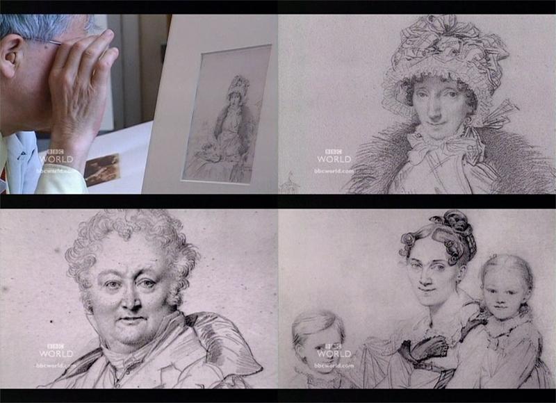 Жан Огюст Доминик Энгр (Jean Auguste Dominique Ingres) - рисунки английских туристов в Риме