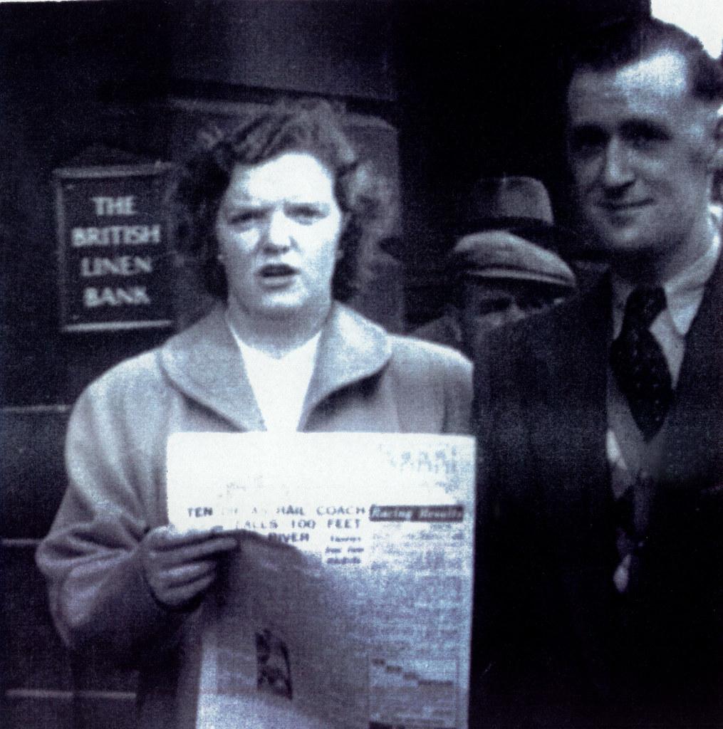Margaret and Tommy McBride, 1950s.