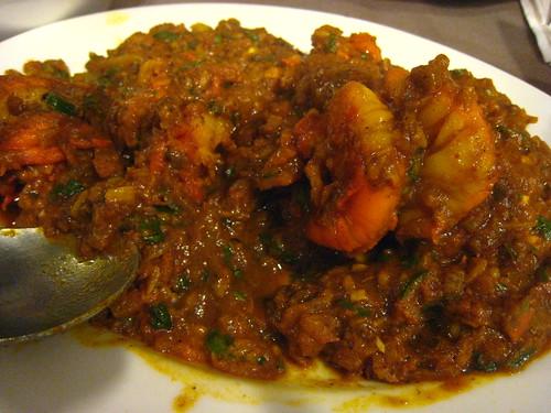 坦都印度餐廳-香料明蝦