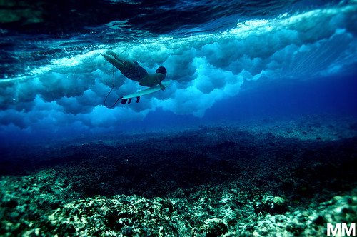 subaquatic navigation / Morgan Maassen