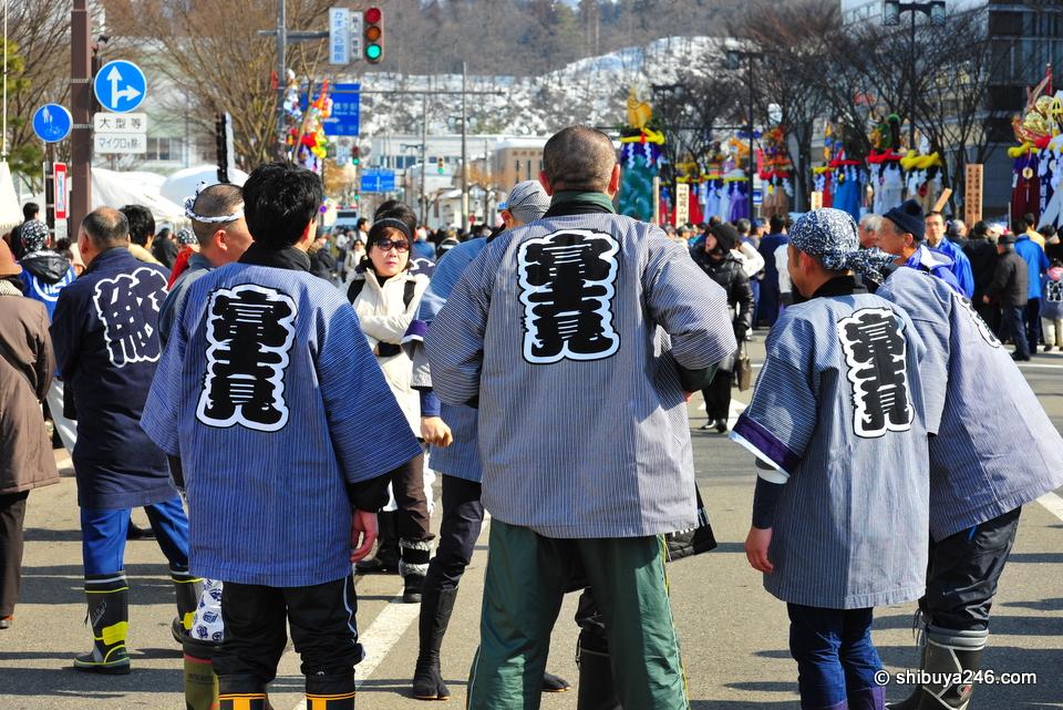 Main street, Yokote, Akita-ken
