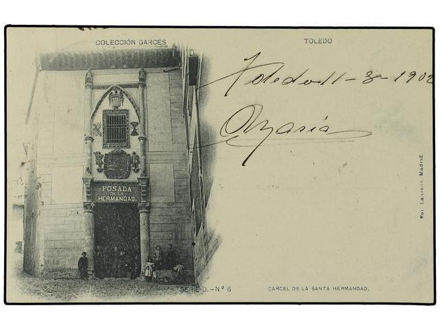 Posada de la Hermandad hacia 1900. Foto Lacoste