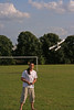 Man Flying Radio Controlled Paper Airplane 3