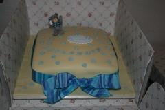 Christening 05 (Rosie's Crafty Things) Tags: teddy chocolate christeningcake