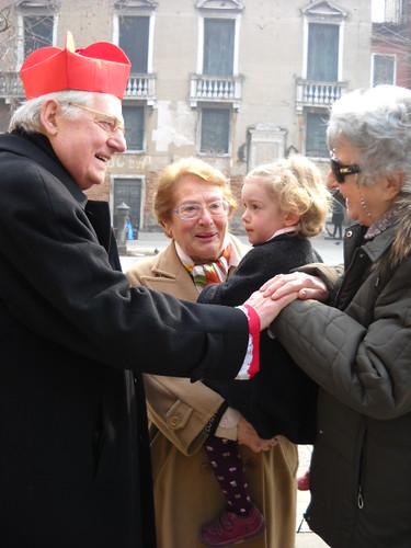 Visita pastorale alla parrocchia di San Giacomo dall'Orio