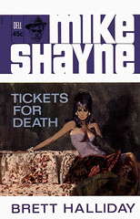 Tickets for Death (McClaverty) Tags: mystery illustration paperback crime murder pulp privateeye detective suspense robertmcginnis mikeshayne bretthalliday
