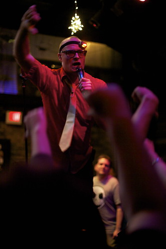 "MC Frontalot doing ""I hate your blog..."""