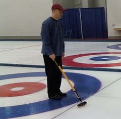 Regis Hadiaris is Curling for Charity with the House of Hearts Charity Bonspiel