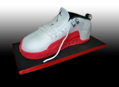 Michael Jordan's  Sneakers Cake