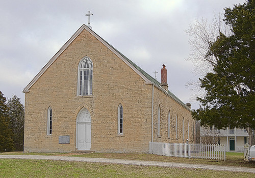 Saint Patrick Roman Catholic Mission, in Armagh, Missouri, USA - exterior