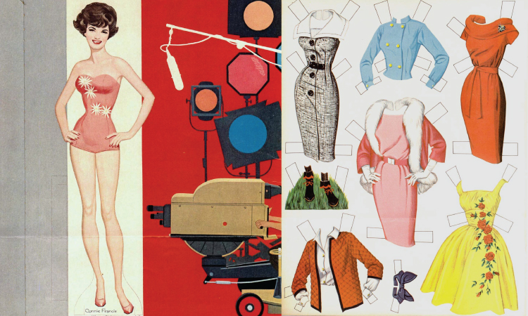 Connie Francis Paperdolls