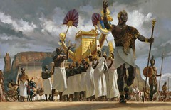 Ancient Nubia (cool-art) Tags: africa gold golden ancient king desert god sudan religion egypt kingdom divine queens marching pharaoh crown nubia jebel nubian amun kush barkal whealth