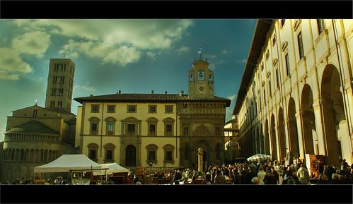 Piazza Grande -Arezzo -Italy