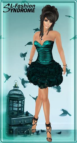 Azul Minidress Robin Aqua 2