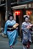 Geisha 2 (leopold trassard) Tags: japan kyoto maiko geiko geisha katsugiku takahina