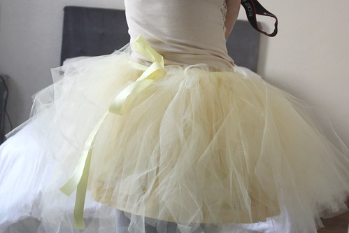 Step 13: Completed Tutu Back, with Underskirt