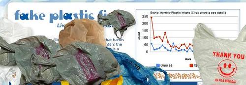 Trashed Fake Plastic Fish