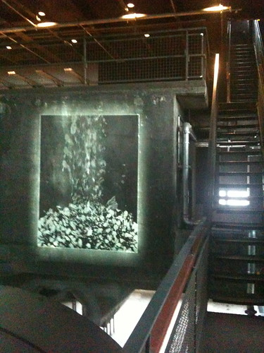 Coal projection Ruhrmuseum