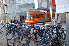 bike parking near Aerial Tram - South Waterfront-2