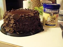 Birthday Cake Radiostaticstar Tags Tillamook Costco Icecream Vanillabean Triplechocolate Fourlayers